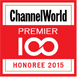 ChannelWorld Premier 100 Award 2015