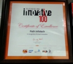 Winning the Inc. 'Innovative100' Award 2014